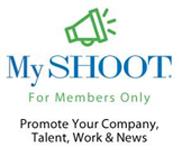 MySHOOT Talent Website banner ad