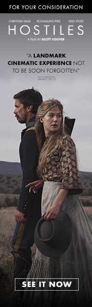 HOSTILES FYC Advertisement