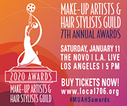 MUAHS Guild Awards Advertisement