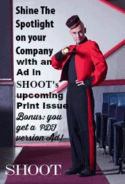 SHOOT Magazine Banner Ad